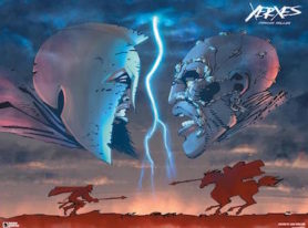 "Frank Miller to Sign ""Xerxes"" Lithograph in Dark Horse Booth at San Diego Comic-Con"