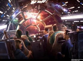 Walt Disney Parks Reveal Star Wars Themed Lands Details