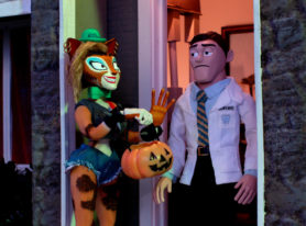 Crackle's Supermansion Special Drag Me To Halloween Is An Epic Fun Run Through Horror Movie Nostalgia