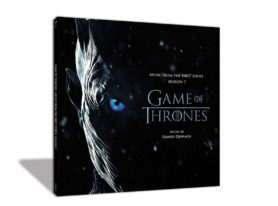 Game of Thrones Season 7 Soundtrack double vinyl and picture disc
