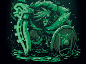 """IDW Launching New Viking Saga Series """"The Spider King Debuts This February"""