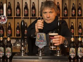 Robinsons Brewery, Iron Maiden and Help For Heroes join forces to launch Light Brigade