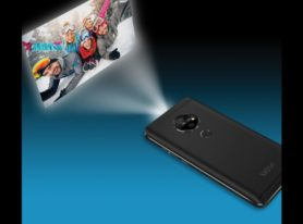 Movi Smartphone With Embedded Pico Projector Showcased at CES 2018