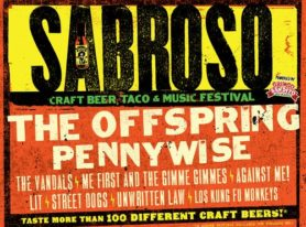 Sabroso Craft Beer, Taco & Music Festival features 100 beers, The Offspring, Pennywise and more