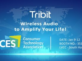 Tribit Introduces Newly High Performance Wireless Audio Products at CES 2018
