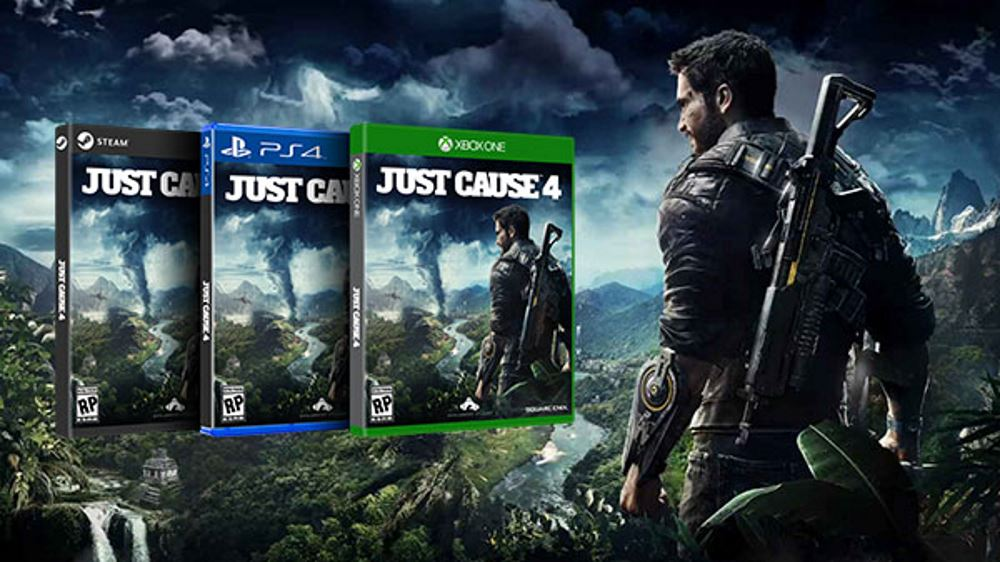 Just Cause 4 Wallpaper: Square Enix Releases Just Cause 4 Making Of Videos
